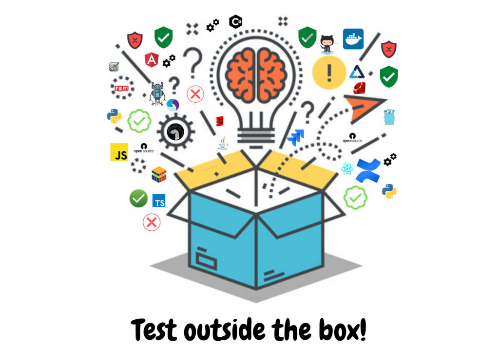Tool ecosystem for a software quality assurance engineer. QA testing outside the box